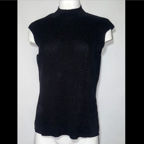 Coldwater Creek Tops - Coldwater Creek Tank Top Blouse Black Sleeveless